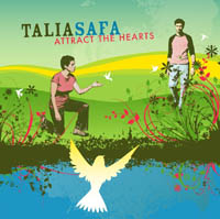 TaliaSafa Attract the Hearts Baha'i Music Album Cover
